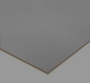 WHITE FACED Hardboard