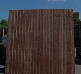 CLOSE BOARDED FENCE PANELS